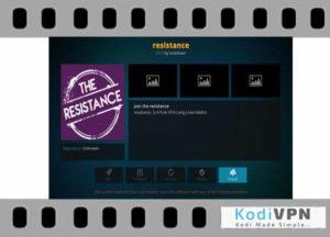 The Resistance kodi addon