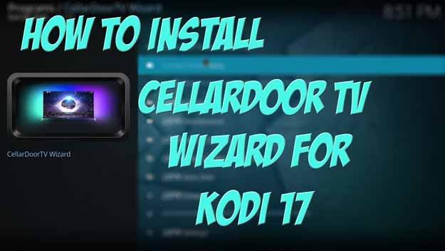 cellardoor tv kodi wizard