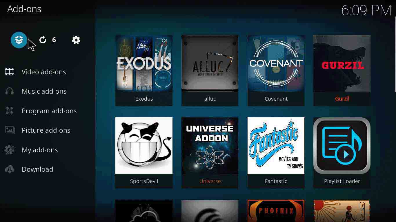 how to add spinzflix kodi