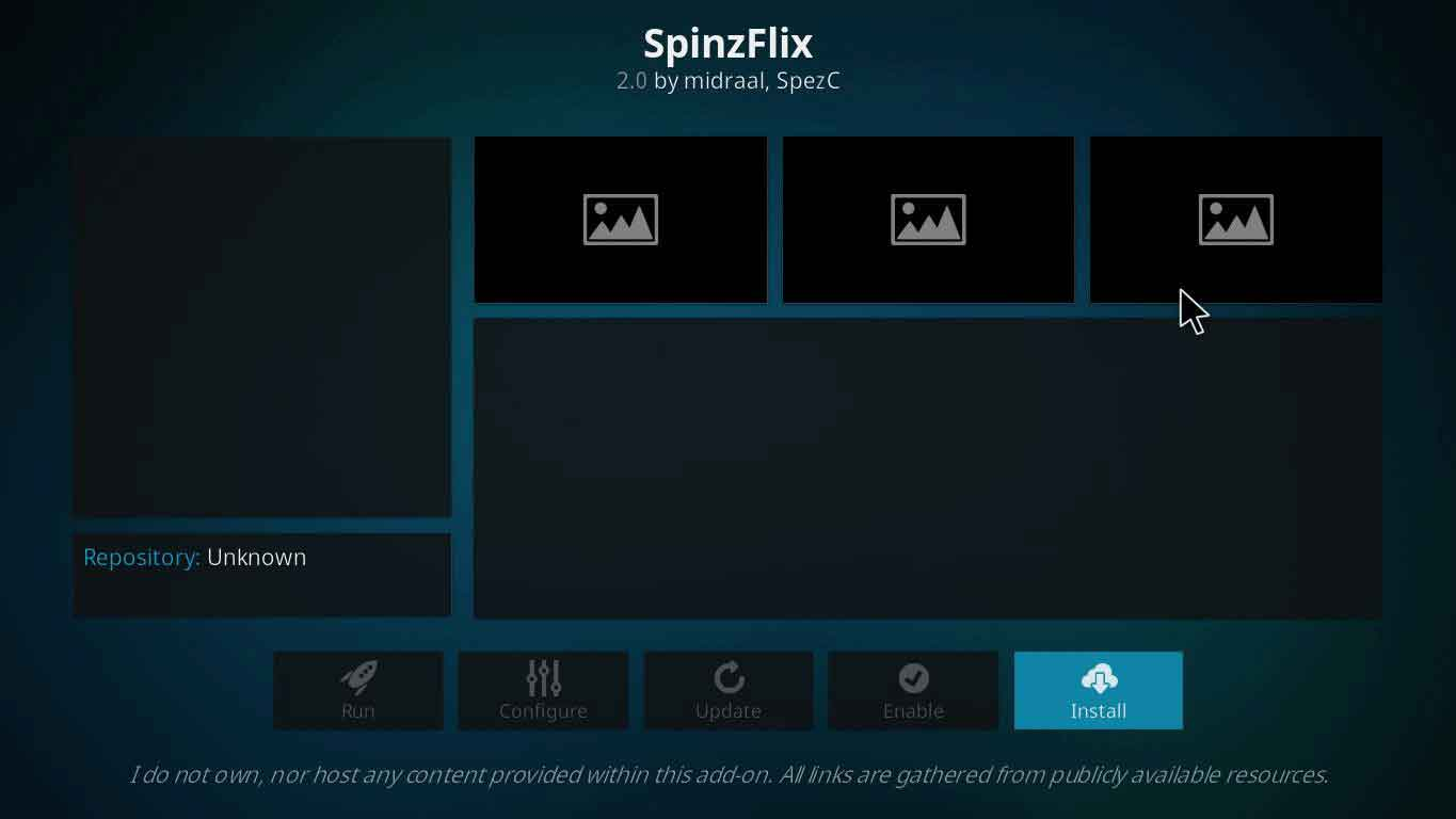 how to install spinzflix kodi on firestick