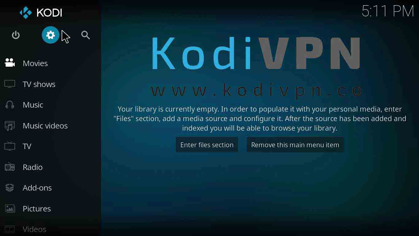 how to watch grammy awards kodi on krypton version 17.6 or lower