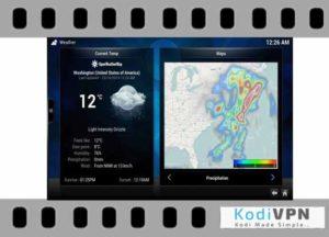 kodi Open Weather Map addon