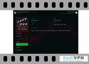 real movies kodi addon