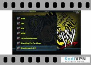 we watch wrestling kodi addon