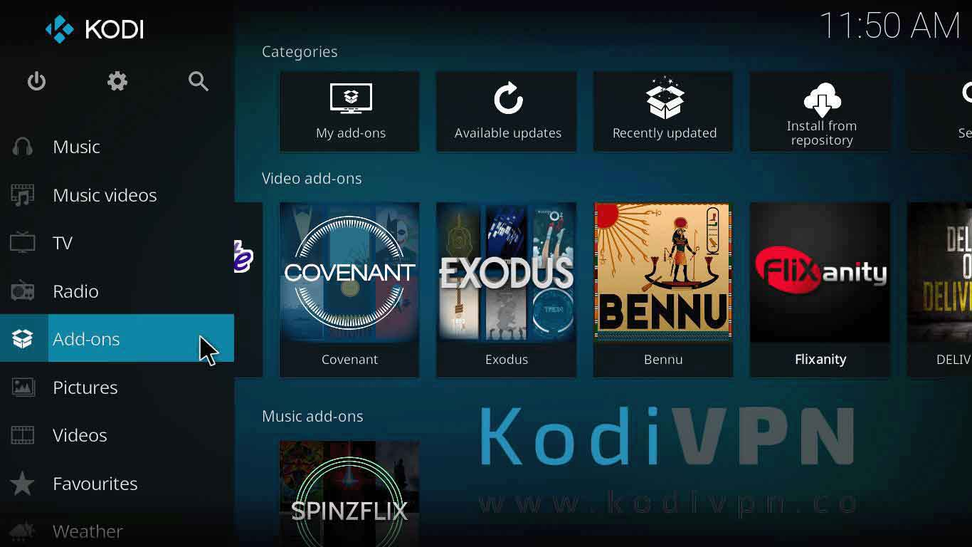 how to install cartoons8 kodi on jarvis version 16 or higher