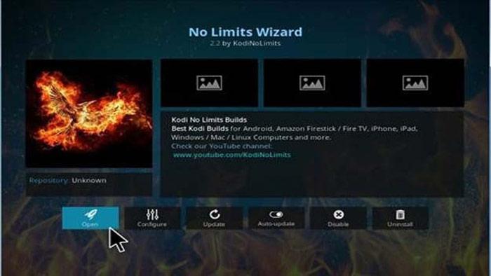 No limits best kodi wizard 2018