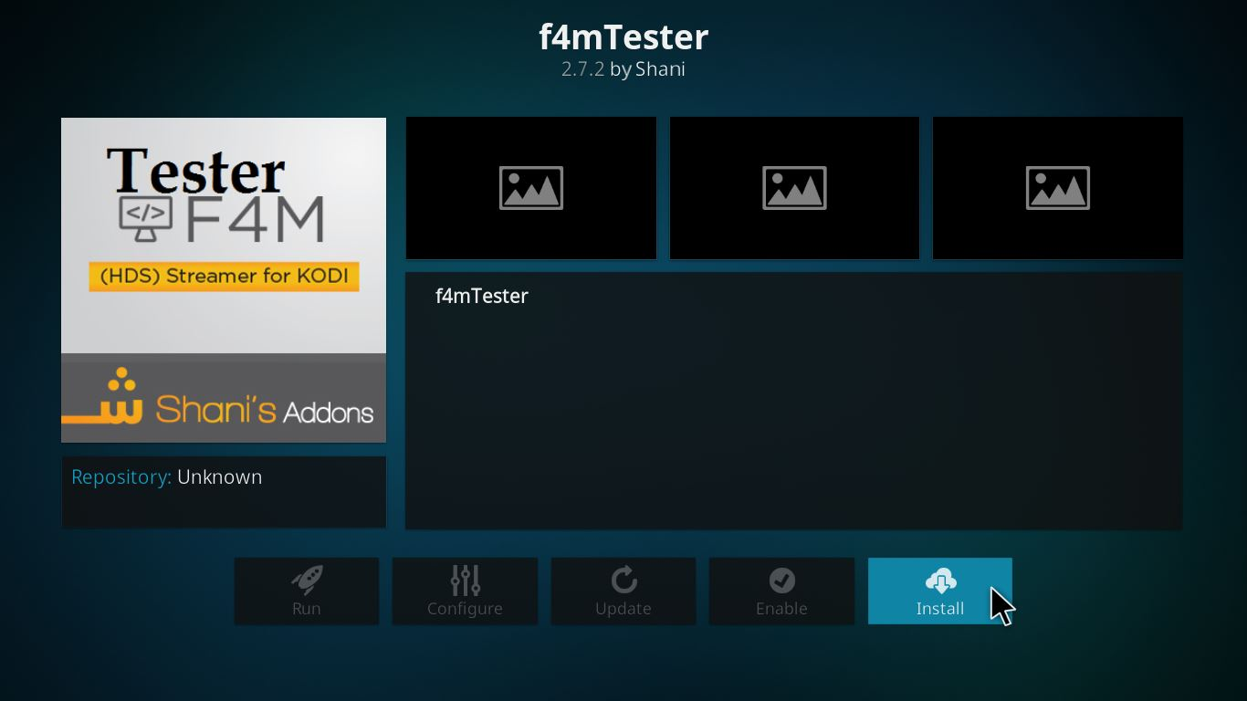 f4mtester 코디 설정