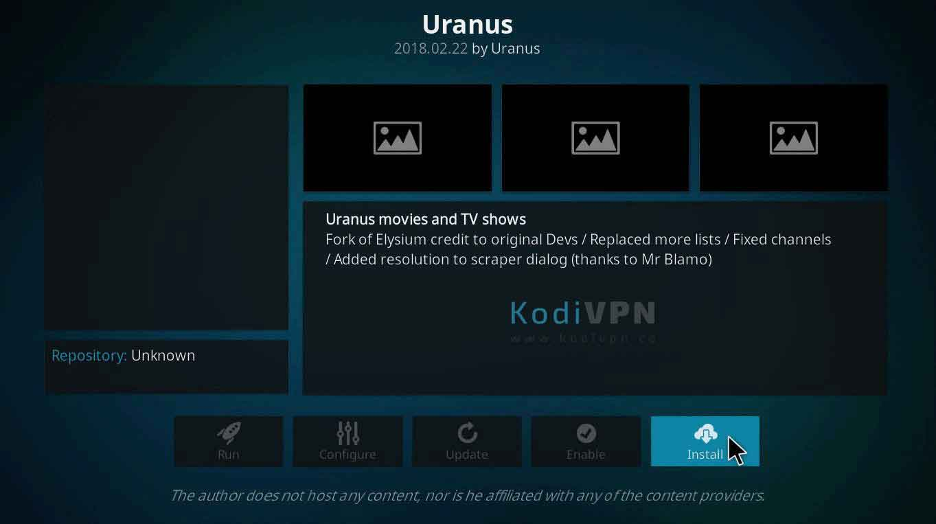 uranus kodi repository