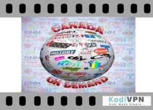 Canada on demand kodi addon