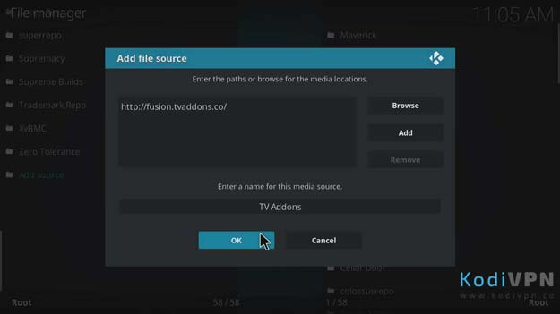 how to install github browser kodi on firestick
