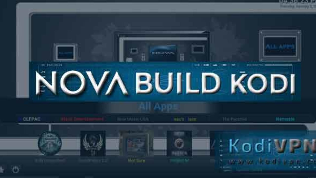 How to Install Nova Kodi Build on Krypton