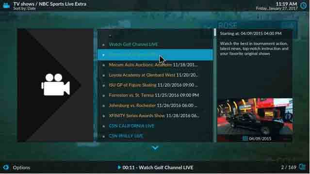 kodi-golf-channel