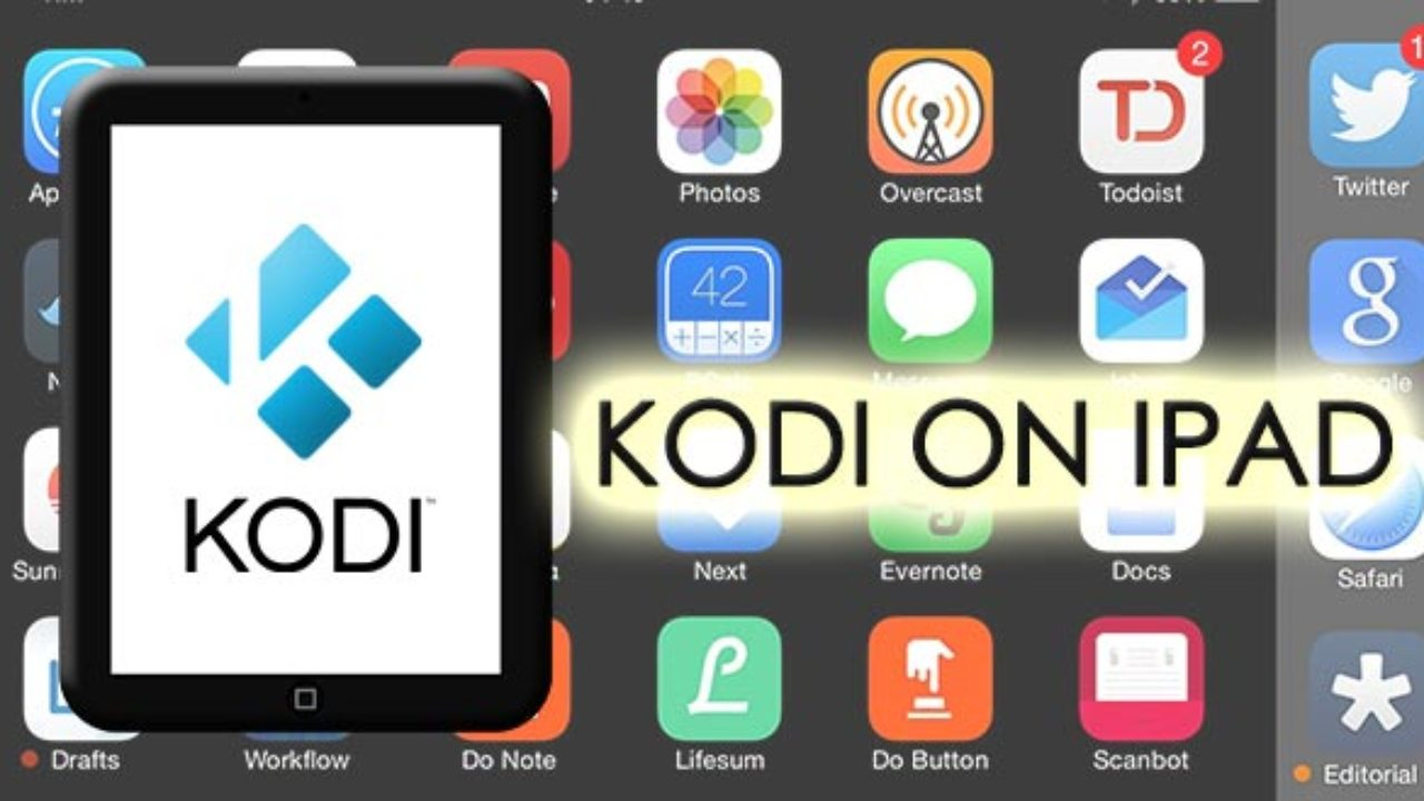 Kodi on iPad - How to Install Without Computer/With Jail Broken in 4