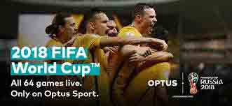 Optus FIFA World Cup 2018 coverage