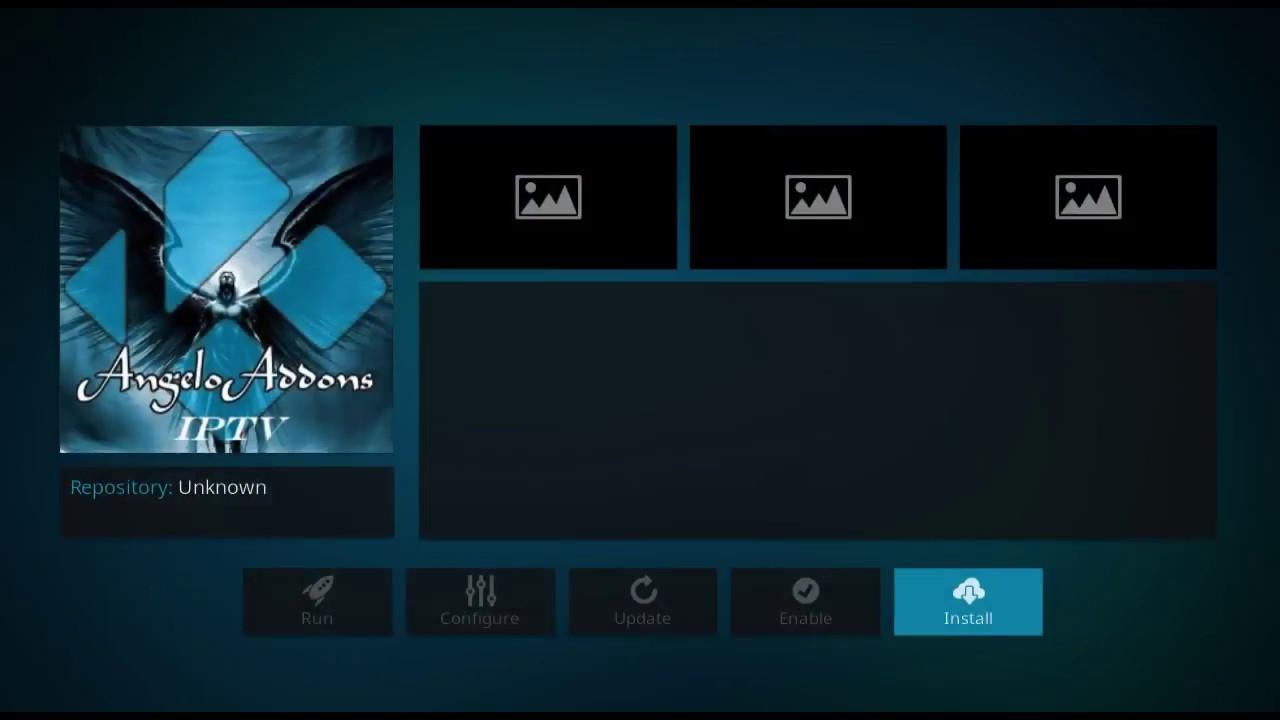 How to Install Angelo IPTV Kodi Addon on Kodi Krypton Version 17 6