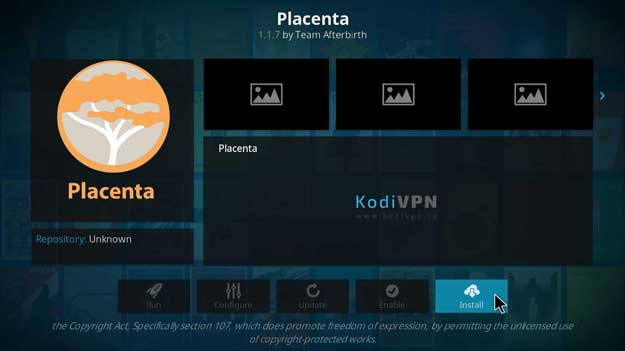 placenta repository