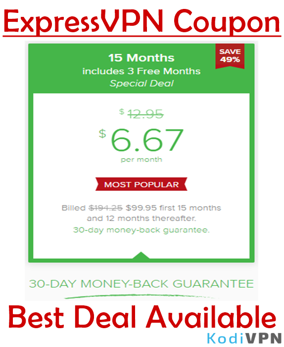 ExpressVPN Coupons & Deals, July 2019