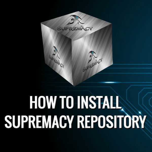 How to Install Supremacy Kodi Repository on Krypton, Jarvis & FireStick
